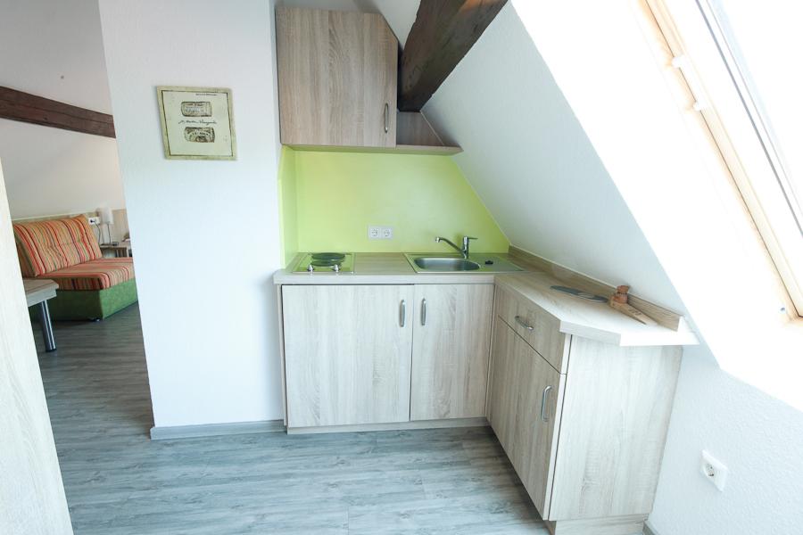 Wirtshaus am Treidelpfad Haßmersheim FEWO Küche