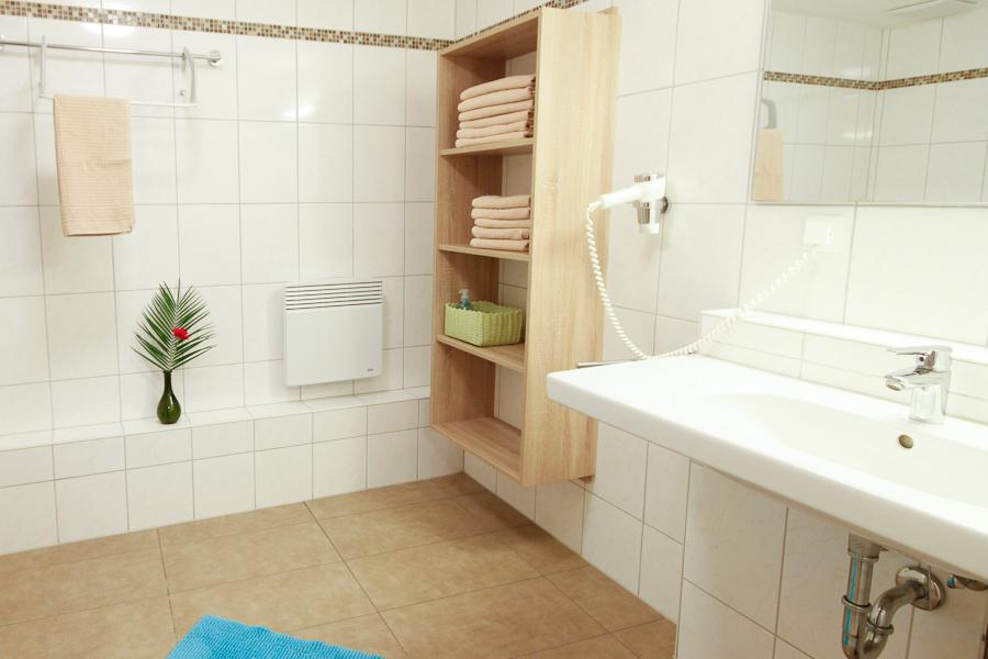Wirtshaus am Treidelpfad Haßmersheim Familienzimmer - Bad